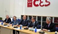 Intervención de Juan Antonio Pedreño en el CES de Murcia