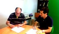 Firma del acuerdo de colaboración con Arenas