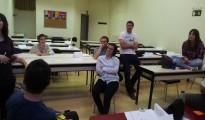 Alumnos del curso de la UPNA y ANEL
