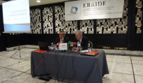 el Presidente de ERKIDE Javier Goienetxea Urkaregi (izquierda) y Agustín Mendiola, Director de ERKIDE (derecha)