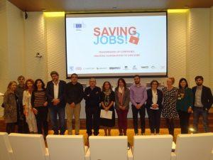 """Murcia acogió el encuentro y Seminario Internacional del Proyecto sobre empresas reconvertidas """"Saving Jobs!"""""""