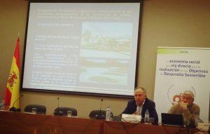 Lorenzo Pañeda intervino en el acto Economía Social y Objetivos de Desarrollo Sostenible