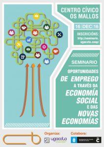 UGACOTA organiza un seminario sobre Economía Social y las Nuevas Economías