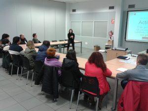 Itinerarios de Empleabilidad, encuentro en Fagor Ederlan Tafalla, en Navarra