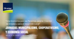 Jornadas de UCOMUR sobre Municipalismo, Cooperativismo y Economía Social en Mula (Murcia)