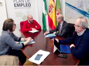 La Diputación de Jáen y FAECTA analizan nuevas formas de colaboración para promover el empleo a través del cooperativismo