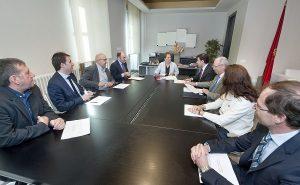 La Presidenta de Navarra se reúne con ANEL y destaca la contribución de la economía social al crecimiento y generación de empleo