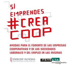 FEVECTA lanza una campaña con el lema 'Si emprendes #CreaCoop' para dar a conocer las ayudas y ventajas de las cooperativas