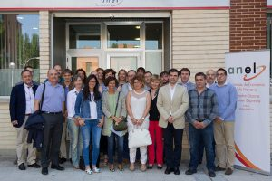 Cooperativas comparten sus experiencias con parlamentarios navarros que visitan ANEL