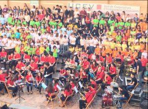 500 alumnos de cooperativas de enseñanza valencianas participaron en la III Trobada de corales de la UCEV