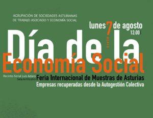El Día de la Economía Social asturiana 2017 se centrará en las empresas recuperadas desde la autogestión colectiva