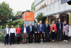 ANEL y Corporación Mondragón se reúnen al máximo nivel para impulsar nuevas líneas de cooperación en Navarra