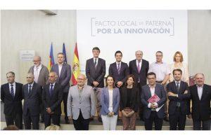 FEVECTA firma el Pacto Local por la Innovación de Paterna junto a un destacado grupo de agentes económicos y sociales