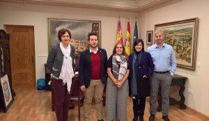 COCETA se reúne con el alcalde de Caudete para potenciar el cooperativismo local