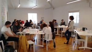 Espazocoop participa en unas jornadas para poner en marcha el Salón de Emprendimiento de A Coruña