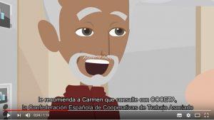 """Mira el nuevo vídeo de COCETA: """"No jubiles tu idea, no acabes tu sueño"""