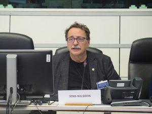 COCETA lamenta el fallecimiento de Jens Nilsson, co presidente del Intergrupo de Economía Social