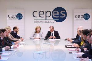 """El presidente de COCETA, Juan Antonio Pedreño, considera que la nueva Estrategia Española de Economía Social del Gobierno """"es un impulso relevante"""" para el sector"""